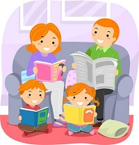 55880336-stickman-illustration-featuring-a-family-reading-together